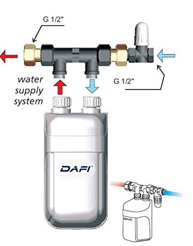 4 5 Kw 230v Instant Water Heater Dafi In Line Under Sink