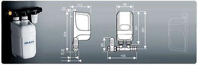 7 3 Kw 230v Instant Water Heater Dafi In Line Under Sink
